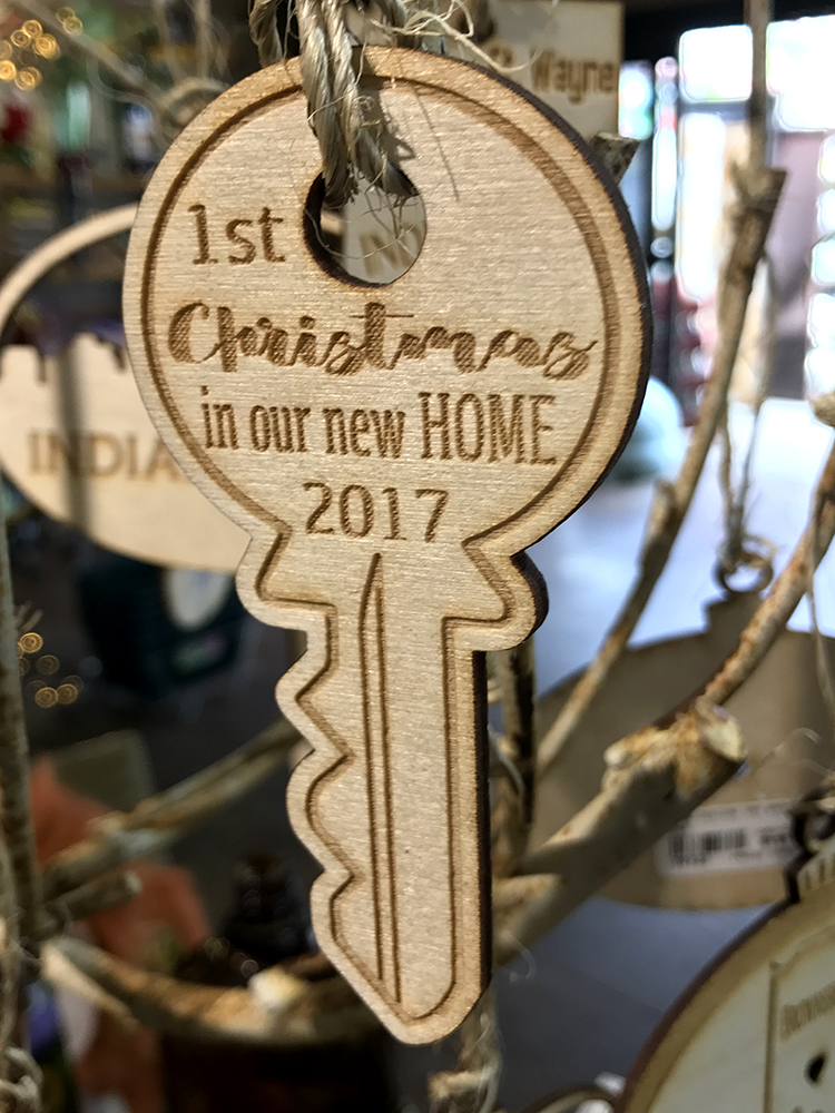 6.29.17 – Wooden Ornaments - New Home