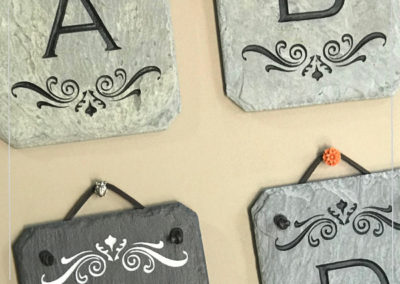 Decorative Letter Wall Hangers