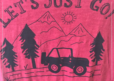 Let's Just Go T-shirt