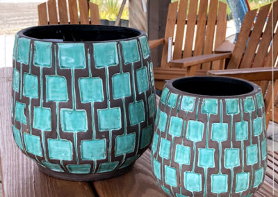 Teal Containers