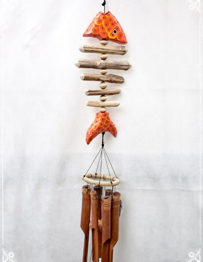 Fish Wooden Chimes