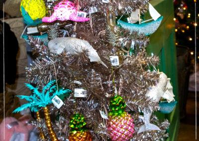 Tropical and Ocean Themed Ornaments